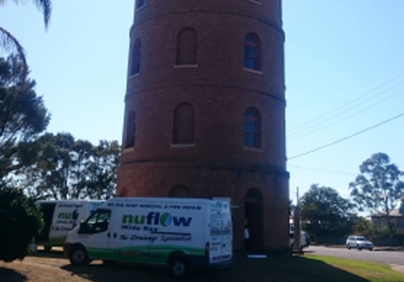 East Water Tower – Pipe Relining (Case Study)