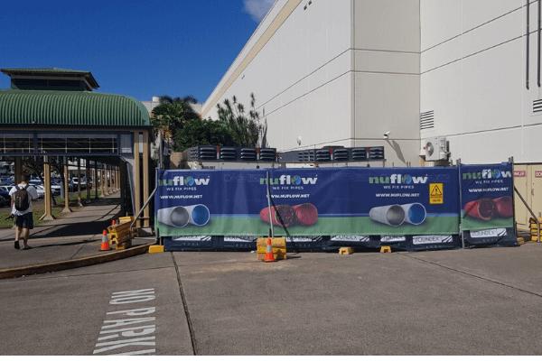 Compressors hidden away for Nuflow's pipe relining job