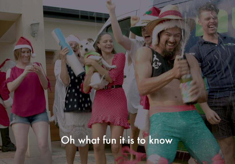 Nuflow Christmas Video