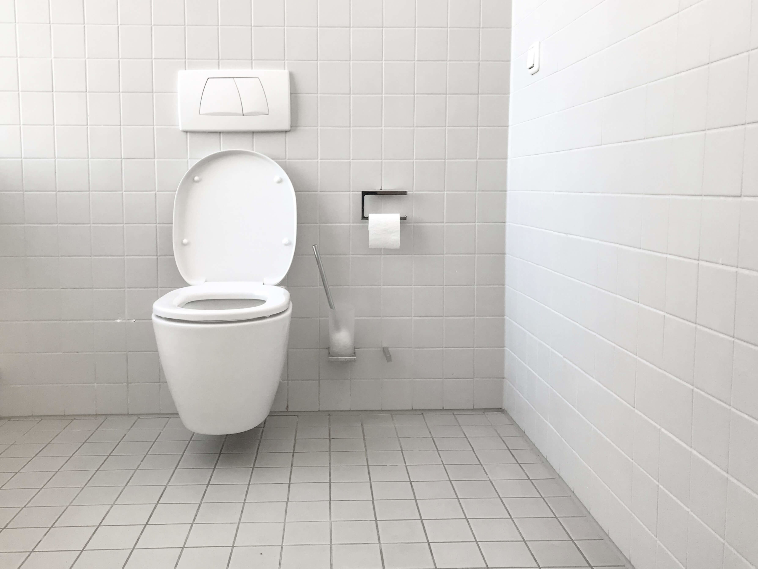 Blocked Sewer Pipes in Public Toilets