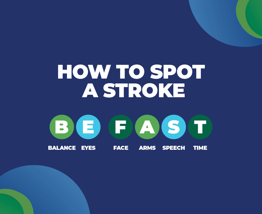 Signs of stroke in the workplace